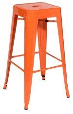 Барные стулья с окрашенным металлокаркасом