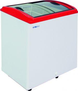Ларь морозильный ITALFROST CF 200C красный