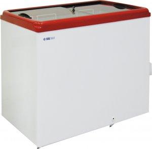 Ларь морозильный ITALFROST CF 300F красный