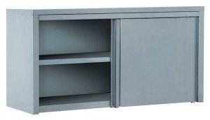 Полка-шкаф настенная закрытая ATESY ПЗК-1500 (двери-купе)