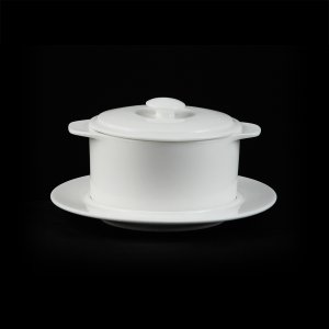 Горшочек с крышкой без блюдца Chan Wave 300 мл