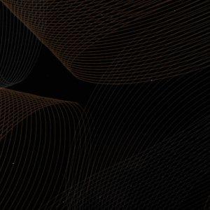 Столешница МДФ Летучая мышь черный глянец [6380]