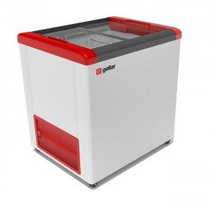 Ларь морозильный GELLAR FG 250 C красный