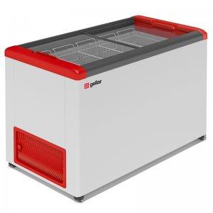 Ларь морозильный GELLAR FG 400 C красный