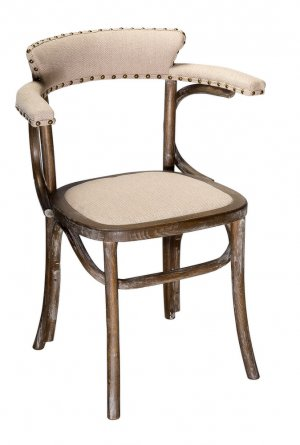 Кресло Мец с мягким сиденьем (деревянный каркас)