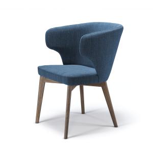Кресло Marco M2 с мягким сиденьем (деревянный каркас)
