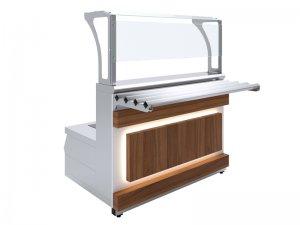Мармит первых блюд 3-конфорочный индукционный Luxstahl МПИ (С)-1500 Premium