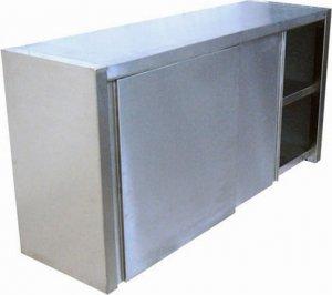 Полка-шкаф настенная закрытая ТЕХНО-ТТ ПН-124/1200 (двери-купе)
