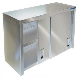 Полка-шкаф настенная закрытая ТЕХНО-ТТ ПН-422/1200 (двери-купе)