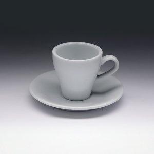 Кофейная пара с круглым блюдцем Collage 90 мл