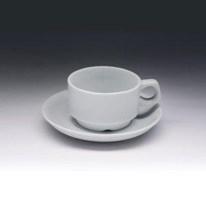 Кофейная пара с круглым блюдцем Collage 100 мл