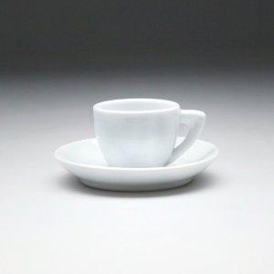 Кофейная пара с круглым блюдцем Collage 70 мл