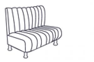 Диван двухместный Камелот (1500 мм)