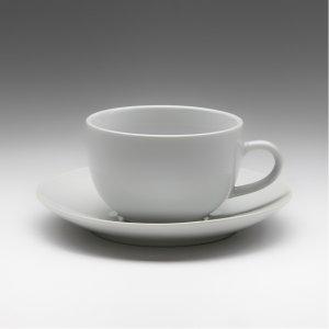 Чайная пара с круглым блюдцем Tvist 210 мл
