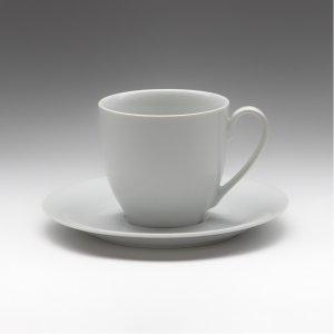 Чайная пара с круглым блюдцем Tvist 200 мл