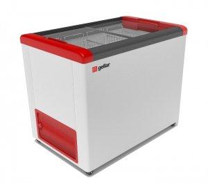 Ларь морозильный GELLAR FG 350 C красный