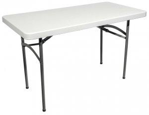 Стол пластиковый складной 1220х610 мм