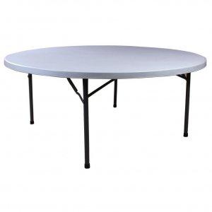 Стол пластиковый круглый складной D 1800 мм