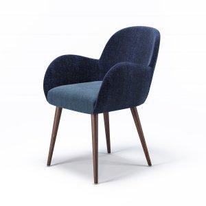 Кресло Aniva с мягким сиденьем (деревянный каркас)