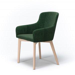 Кресло Marco M3 с мягким сиденьем (деревянный каркас)