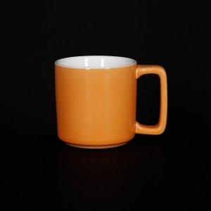Кружка Corone Caffetteria 200 мл оранжевый