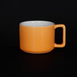 Кружка Corone Caffetteria 290 мл оранжевый