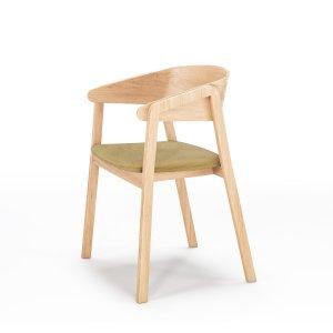 Кресло Cava с мягким сиденьем (деревянный каркас)