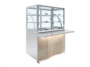 Прилавок холодильный Luxstahl ПХК (С)-1200 Premium