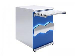 Прилавок нейтральный Luxstahl ПН-600 Premium