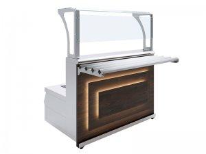 Мармит первых блюд 2-конфорочный индукционный Luxstahl МПИ (С)-1200 Premium
